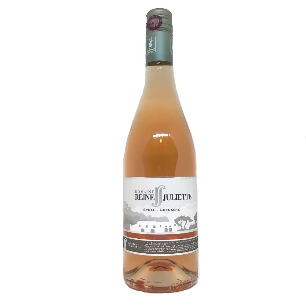 Domaine Reine Juliette Syrah Grenache Rose - Grain & Vine | Curated Wines, Rare Bourbon and Tequila Collection