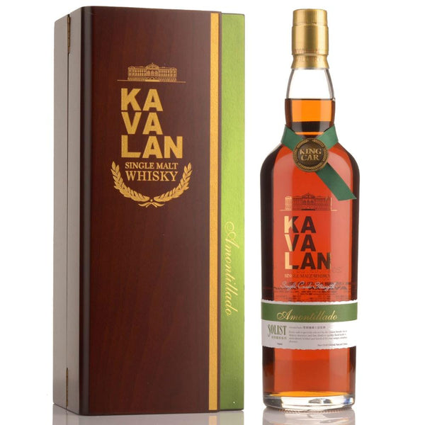 Kavalan Solist Amontillado Sherry Cask Strength Single Malt Taiwanese Whisky - Grain & Vine | Curated Wines, Rare Bourbon and Tequila Collection