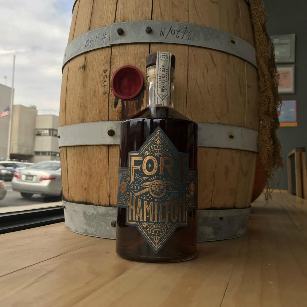 Fort Hamilton Rye Whiskey - Grain & Vine | Curated Wines, Rare Bourbon and Tequila Collection