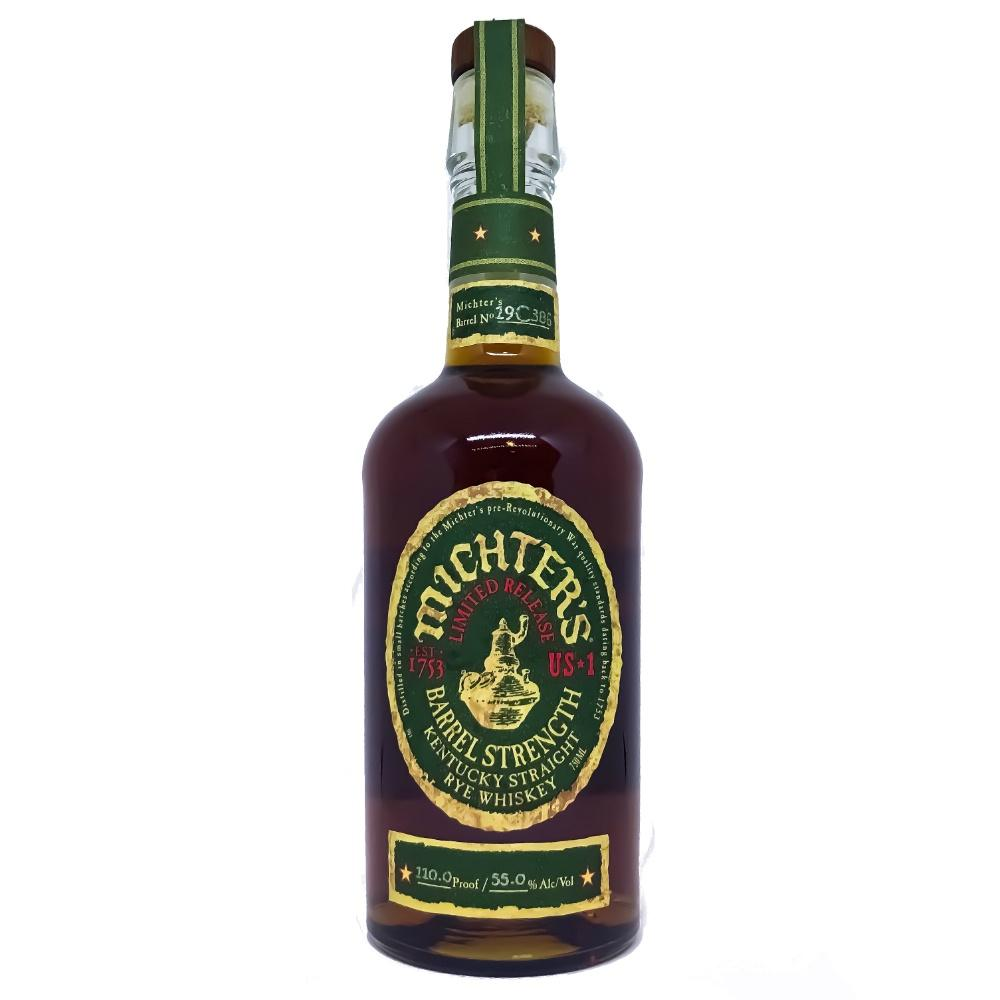 Michters US1 Limited Release Barrel Strength Kentucky Straight Rye Whiskey