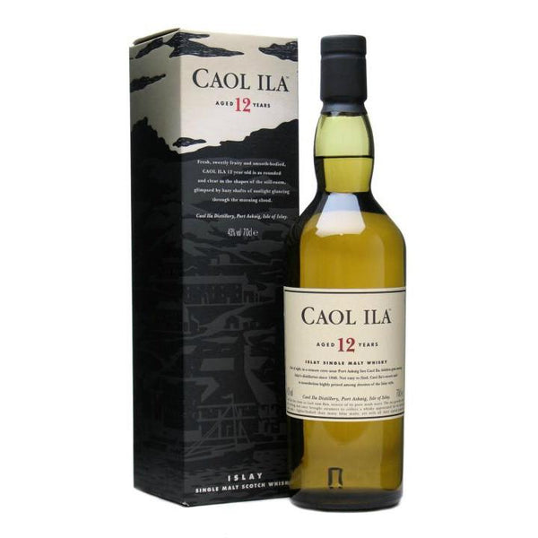 Caol Ila 12 Years Old Islay Single Malt Scotch Whisky - Grain & Vine | Curated Wines, Rare Bourbon and Tequila Collection