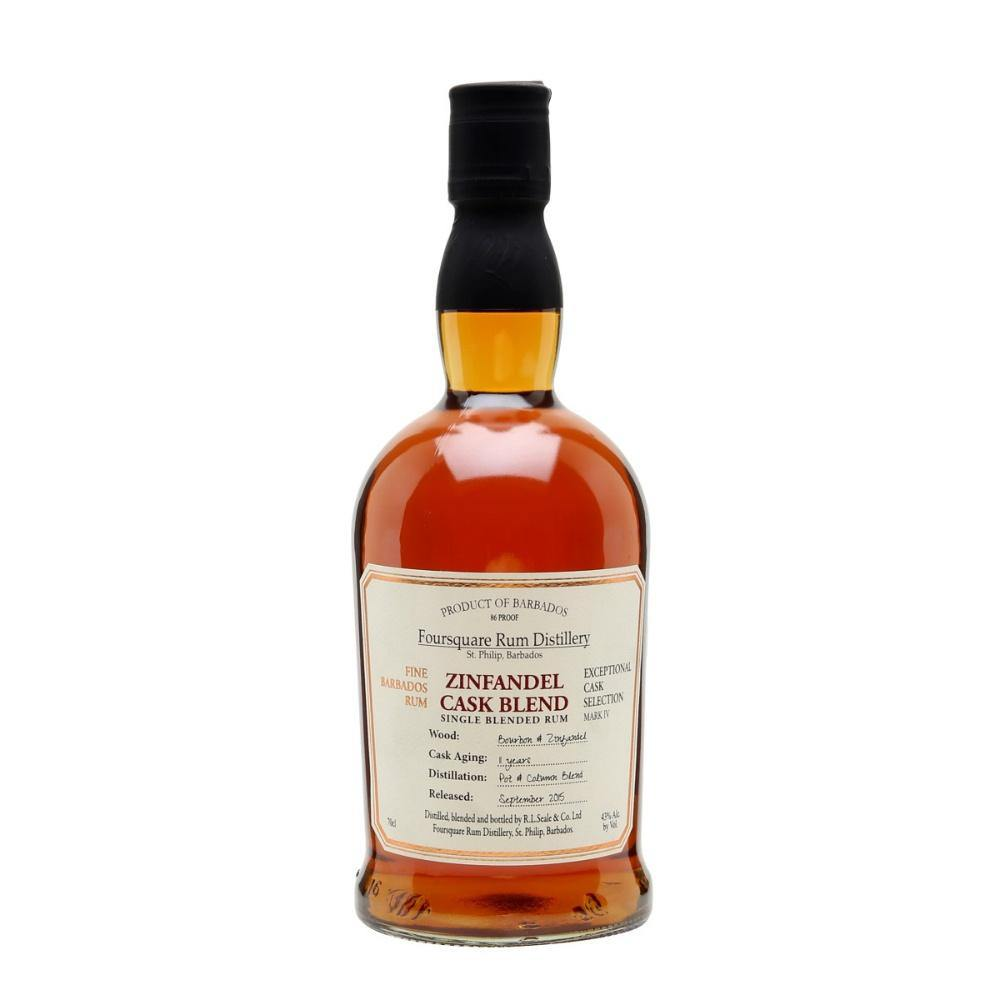Foursquare Distillery Zinfandel Cask Single Blend Rum - Grain & Vine | Curated Wines, Rare Bourbon and Tequila Collection