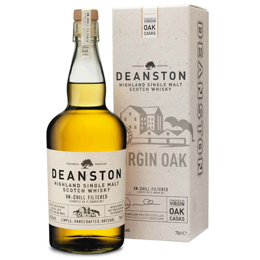 Deanston Highland Single Malt Scotch Whisky - Grain & Vine | Curated Wines, Rare Bourbon and Tequila Collection