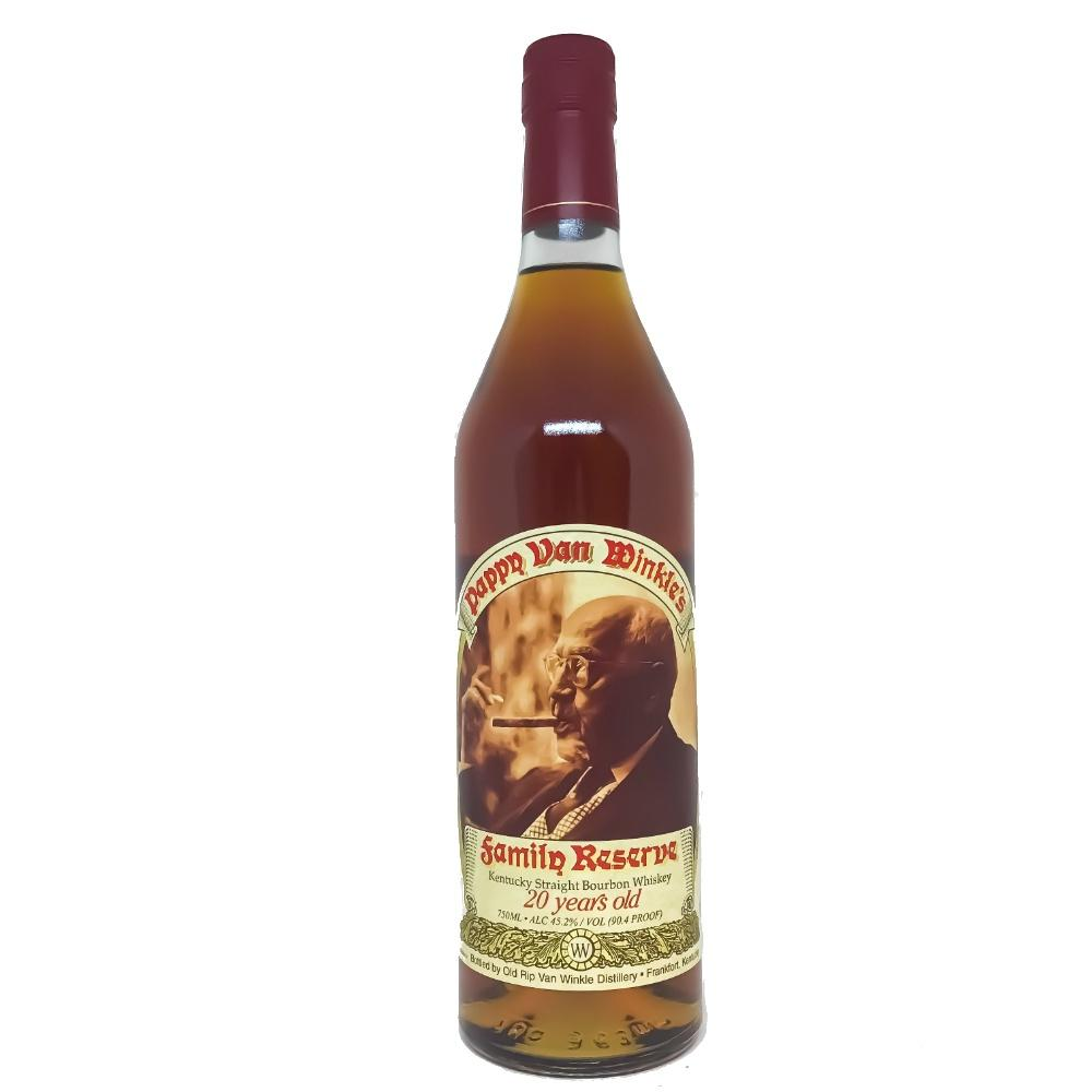 Pappy Van Winkle 20 Years Family Reserve Kentucky Straight Bourbon Whiskey - Grain & Vine | Curated Wines, Rare Bourbon and Tequila Collection