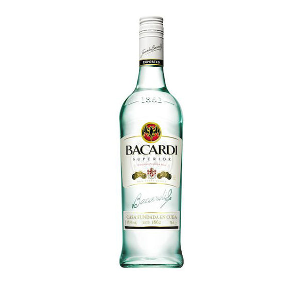 Bacardi Rum Superior Light - Grain & Vine | Curated Wines, Rare Bourbon and Tequila Collection