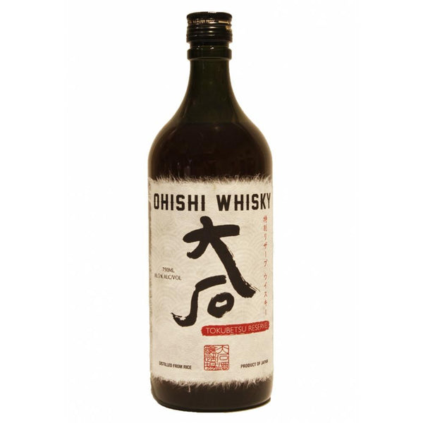 Ohishi Tokubetsu Reserve Whisky - Grain & Vine | Curated Wines, Rare Bourbon and Tequila Collection