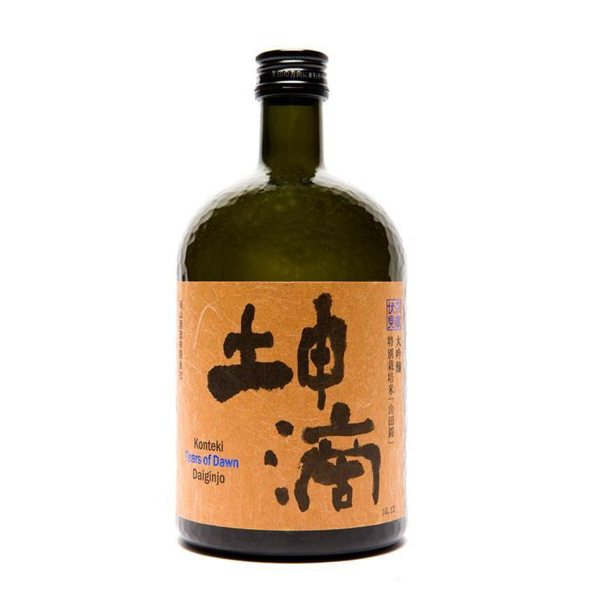 Konteki Tears of Dawn Daiginjo Sake - Grain & Vine | Curated Wines, Rare Bourbon and Tequila Collection