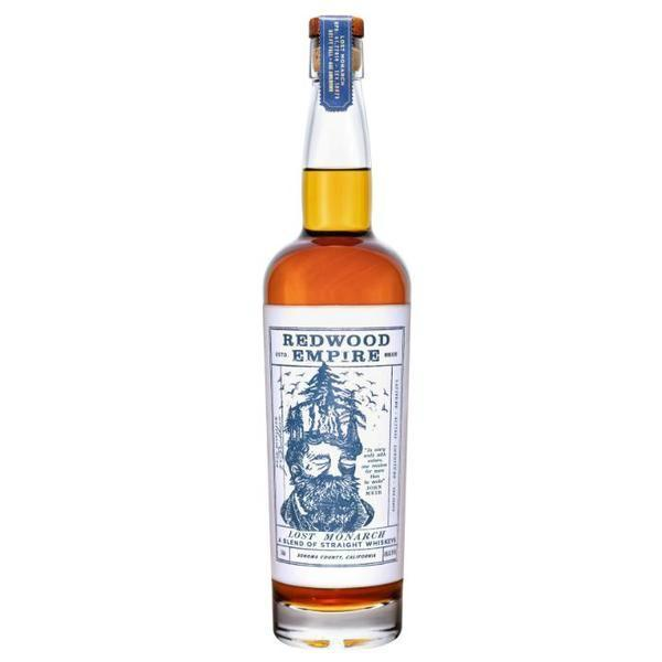 Redwood Empire Lost Monarch A Blend Of Straight Whiskey - Grain & Vine | Curated Wines, Rare Bourbon and Tequila Collection