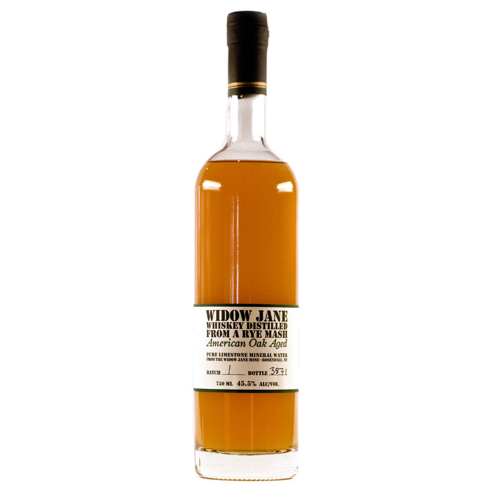 Widow Jane Rye Mash Whiskey American Oak Aged - Grain & Vine | Curated Wines, Rare Bourbon and Tequila Collection