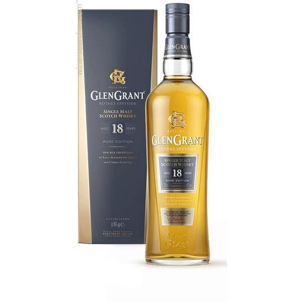 Glen Grant 18 Years Old Rothes Speyside Single Malt Scotch Whisky - Grain & Vine | Curated Wines, Rare Bourbon and Tequila Collection