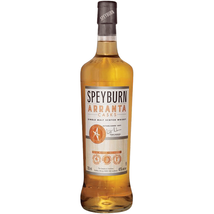 Speyburn Arranta Casks Single Malt Scotch Whisky - Grain & Vine | Curated Wines, Rare Bourbon and Tequila Collection