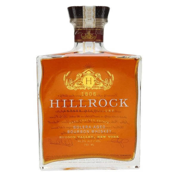 Hillrock Estate Distillery Solera Aged Bourbon Whiskey - Grain & Vine | Curated Wines, Rare Bourbon and Tequila Collection