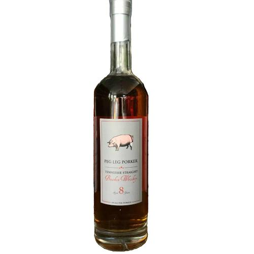 Peg Leg Porker 8 Years Tennessee Straight Bourbon Whiskey - Grain & Vine | Curated Wines, Rare Bourbon and Tequila Collection