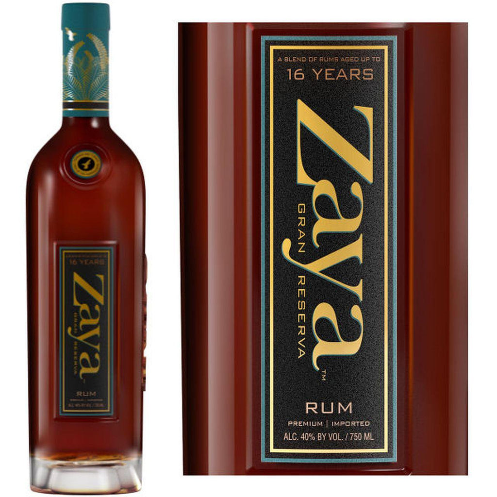 Zaya Grand Reserve 16 Years Rum - Grain & Vine | Curated Wines, Rare Bourbon and Tequila Collection