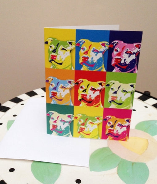 Pop Art Note Card and Envelope