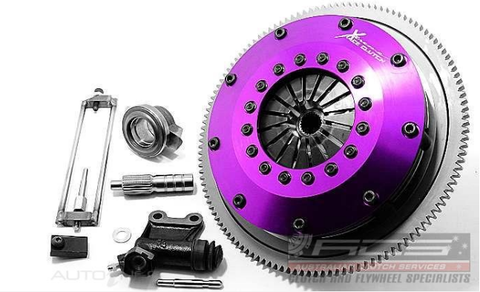 200mm Rigid Ceramic Twin Plate w/ Flywheel 5spd (Evo X)