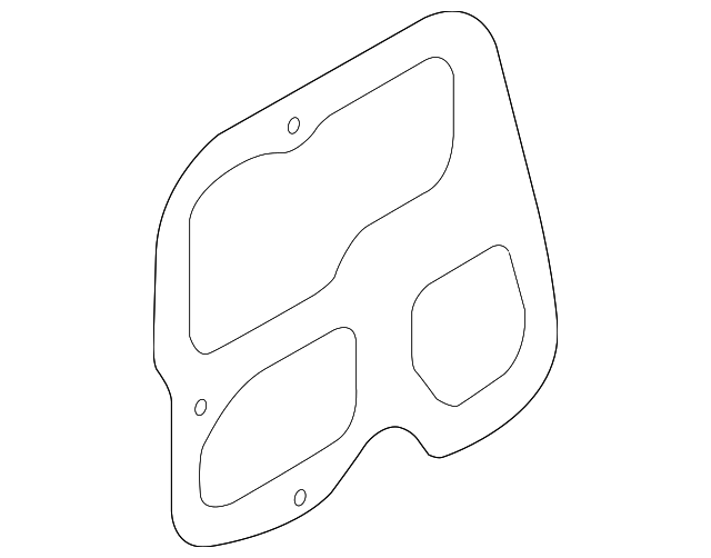 RIght Hand Rear Tail Light Gasket (STI 08-14 SEDAN)