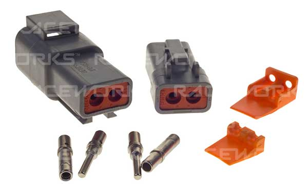 Deutsch DTP 2-Way Connector Kit