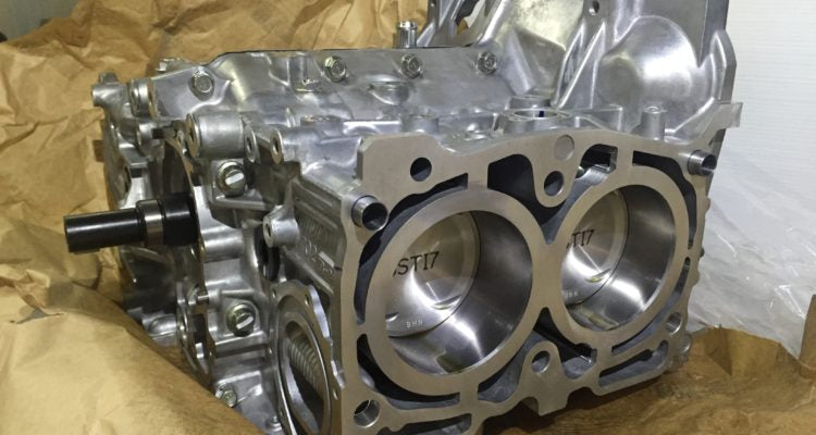 EJ207 Short Block BARE ONLY (GRB JAP Spec C STI MY08-17)