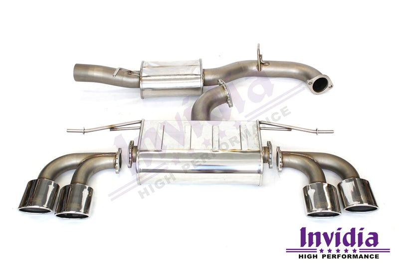 Q300 Turbo Back Exhaust (MK7 Golf GTI)