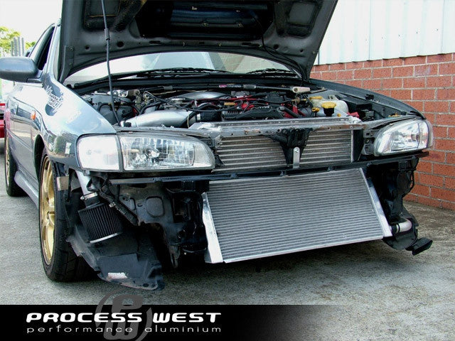 V Mount Intercooler  No Piping   Wrx  Sti 97