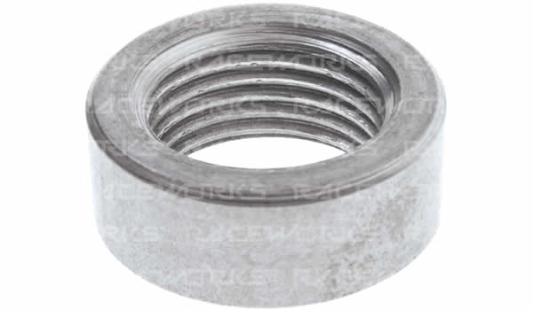 Metric Female Weld Ons - Aluminium