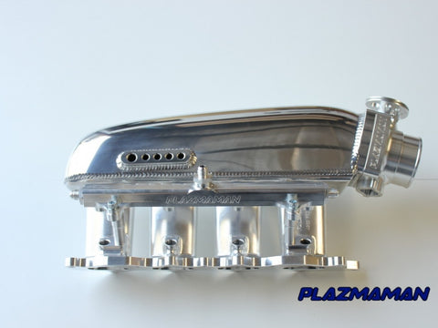 Billet Inlet w/Fuel Rail -4 Injectors (Evo 4-9 4G63)