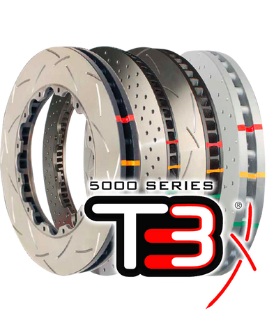 T3 5000 Road & Race Series 2 PIECE (Front Rotors)