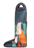 Art of Riding Neoprene Boot Bag - Flock Of Birds