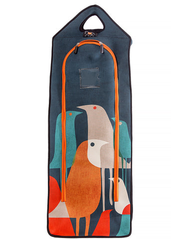 Art of Riding Neoprene Bridle Bag - Flock Of Birds