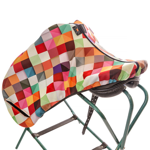 Art of Riding Neoprene Saddle Cover for Jumping and All-Purpose Saddles - Pass This On