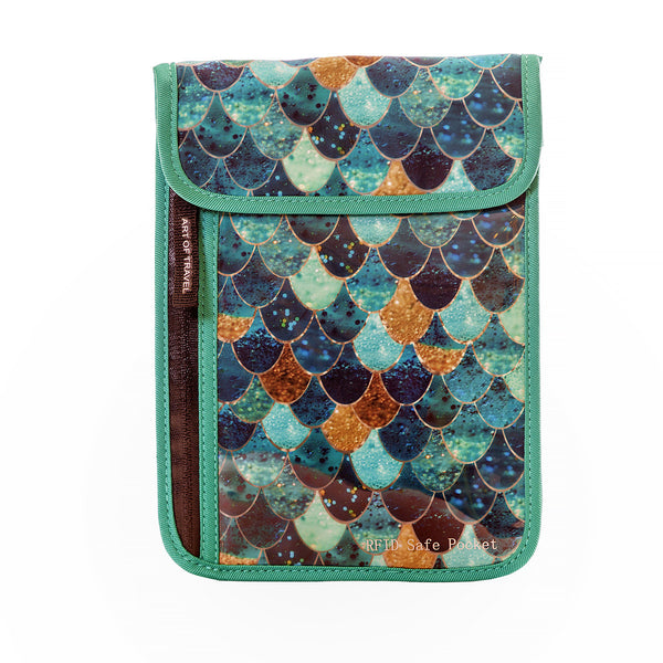 Art of Travel Passport Neck Wallet - Really Mermaid