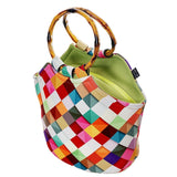 Neoprene Lunch Bag Purse by Art of lunch-Pass This On