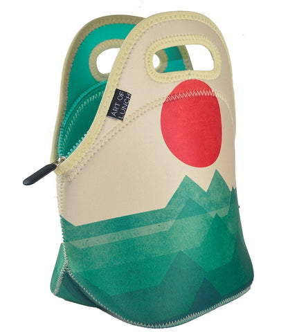 Neoprene Lunch Bag by ART OF LUNCH - The Ocean, the Sea, the Wave