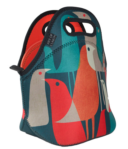 Neoprene Lunch Bag by ART OF LUNCH - Flock of Birds