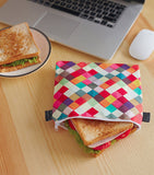 Reusable Sandwich & Snack Baggies by ART OF LUNCH - Artists Around the World