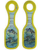 Neoprene Designer Luggage Tags by ART OF TRAVEL - Sea Turtle