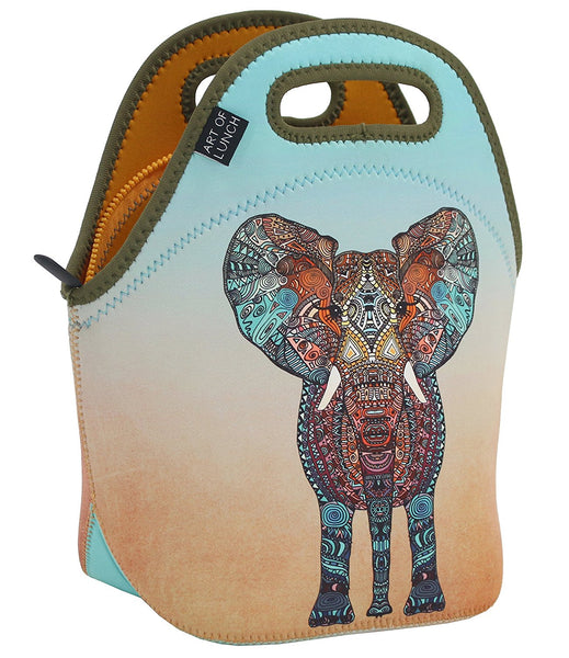 Neoprene Lunch Bag by ART OF LUNCH - Elephant