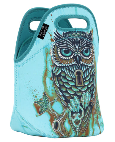 Neoprene Lunch Bag by ART OF LUNCH-Bubo's Key                              UPC: 746106664929
