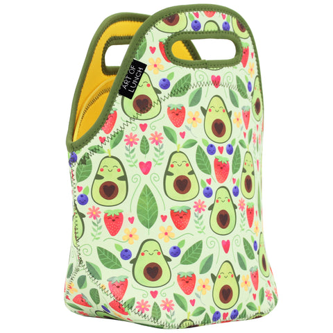 Neoprene Lunch Bag by ART OF LUNCH-Avacado                              UPC: 746106664936
