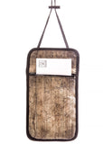 Art of Travel Passport Neck Wallet - Woodgrain