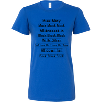 Miss Mary Mack Women's Notebook Tee