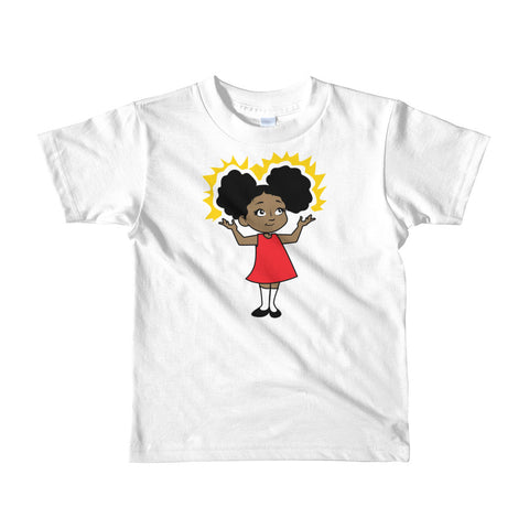 School Girl Toddler Tee