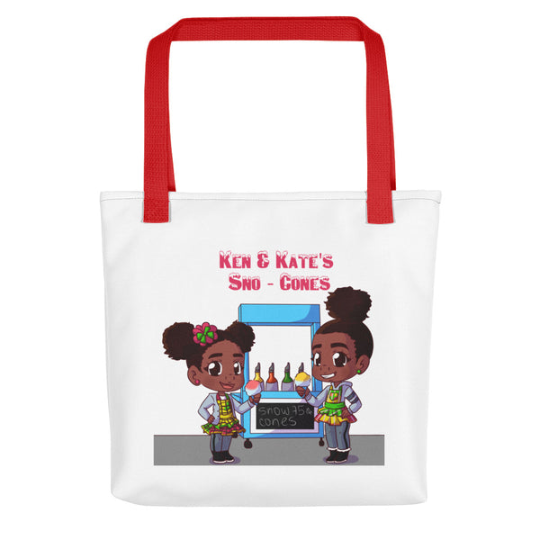 Ken & Kate's Sno-Cones Tote Bag