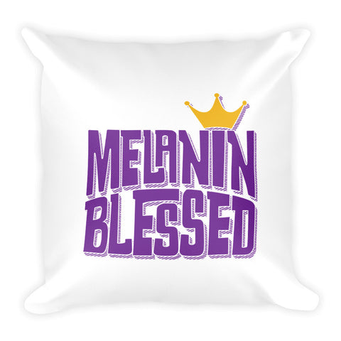 Melanin Blessed Pillow