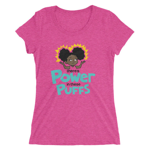 Womens Power Puff Tee