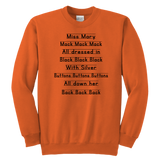 Miss Mary Mack Notebook Sweatshirt