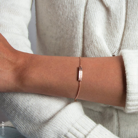 Tiny Bar Bracelet • BB20x4