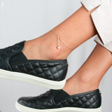 Delicate Disc Anklet •  ADe6