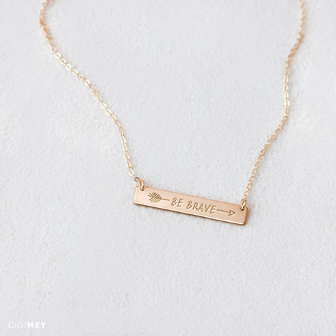Encouragement Necklace • NBh35x5-01